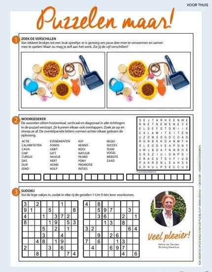 Vind hier de oplossing van de puzzel van jaargang 3 - uitgave 2
