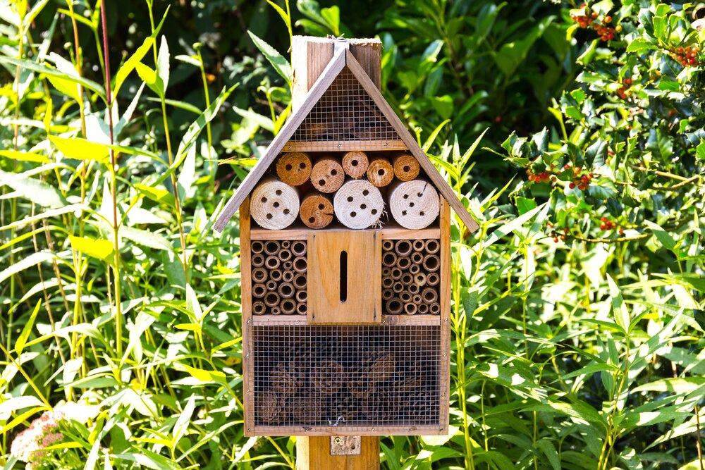 Bouw een insectenhotel