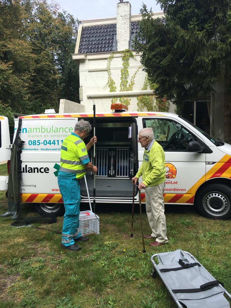 Uitleg van de ambulance